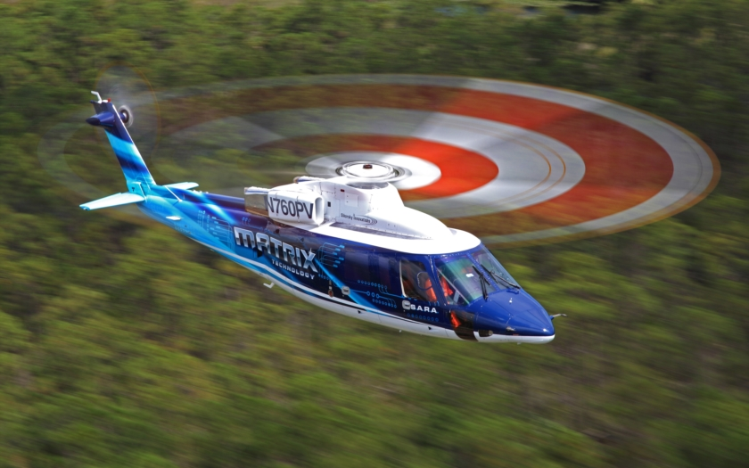 Sikorsky předvedl autonomní vrtulník ovládaný tabletem