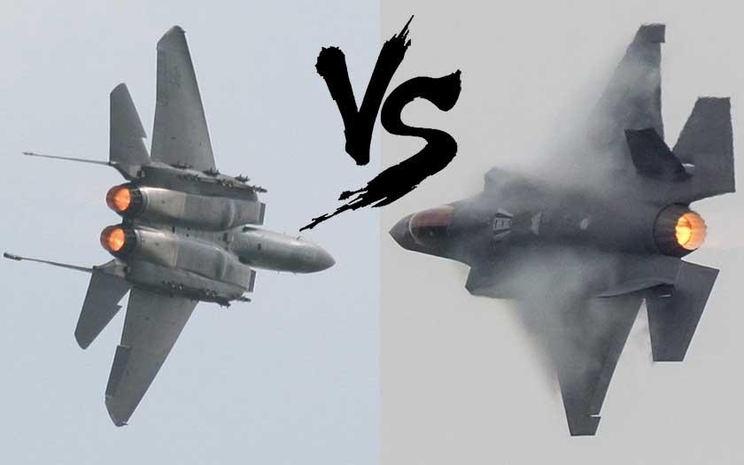 F-35 vs F-15E dopadlo nečekaným výsledkem 8:0 pro podceňovaný stíhač