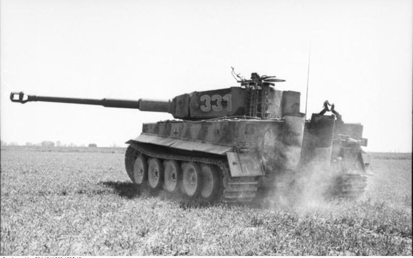 Unikátne zábery: Tank Tiger v boji