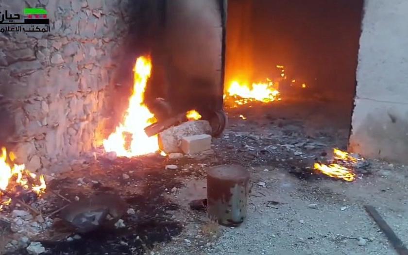 Video: Ruská a syrská armáda údajně používá proti povstalcům zakázané termobarické bomby