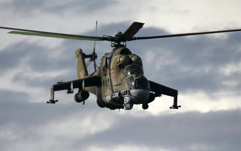 Islámisté sestřelili vrtulník Mi-25 s ruskými leteckými instruktory