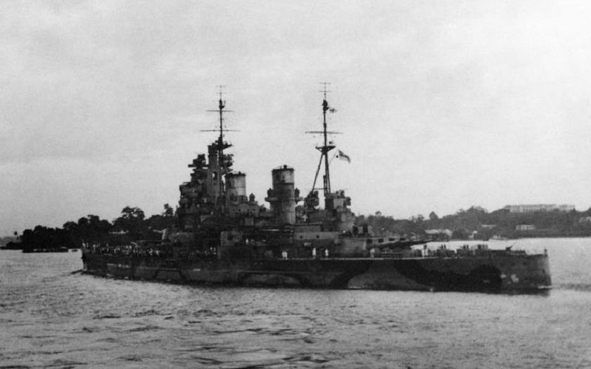 Zkáza svazu Z - potopení britské bitevní lodi HMS Prince of Wales japonskými bombardéry