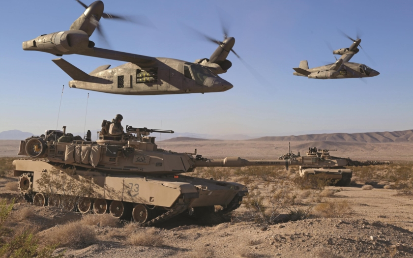 V-280 Valor: Náhrada za vrtulníky Black Hawk americké armády?