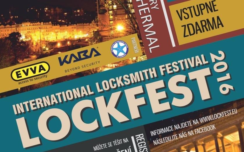 2. ročník Mezinárodního zámkařského veletrhu LOCKFEST 2016