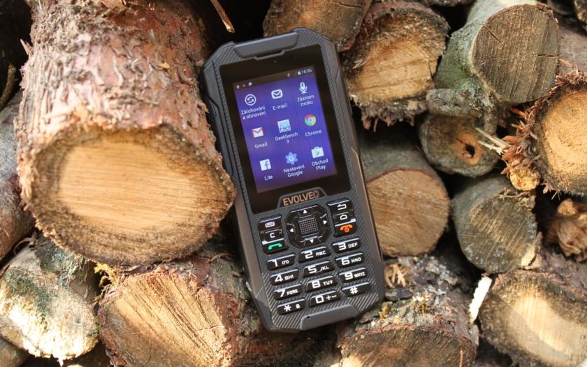 Test telefonu Evolveo X4 – obrněný Android s tlačítky