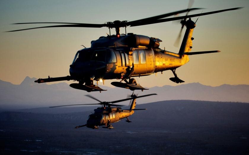 Čtvrteční havárie vojenského vrtulníku a stíhačky u Las Vegas