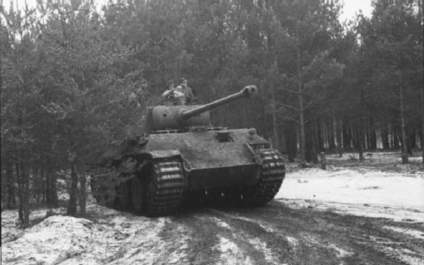 Pohled dovnitř jednoho z nejobávanějších německých tanků druhé světové války Panthera