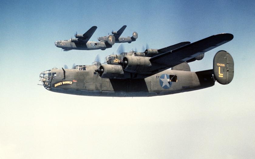 Consolidated B-24 Liberator (Osloboditeľ)