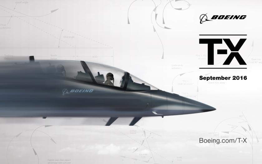 Boeing začíná odhalovat svůj koncept T-X