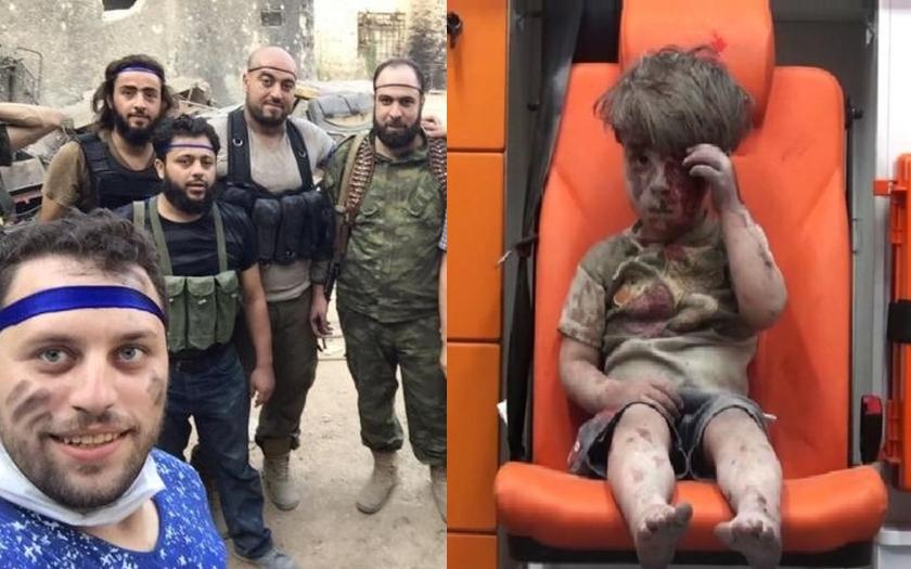 Média pátrají po reportérovi, co vyfotil zraněného syrského chlapečka v Aleppu