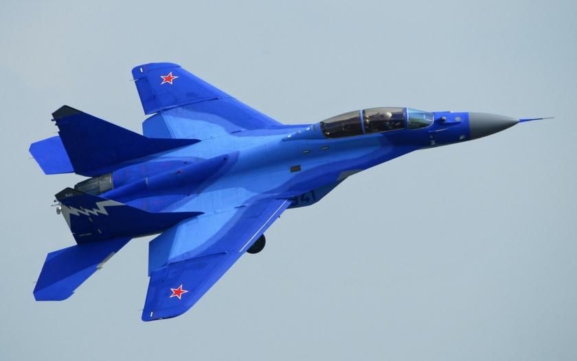 Ruský Mig-29 havaroval u syrského pobřeží