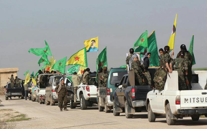 Turecko opět lhalo. Jeho armáda zasahuje v Sýrii proti Kurdům a ne proti IS