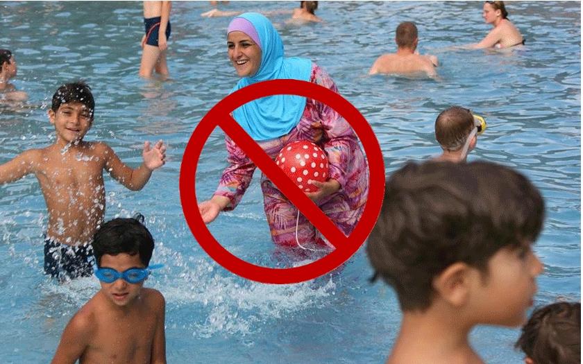 Nošení burkin je provokace, která podporuje radikální islám. Většina Francouzů je odmítá
