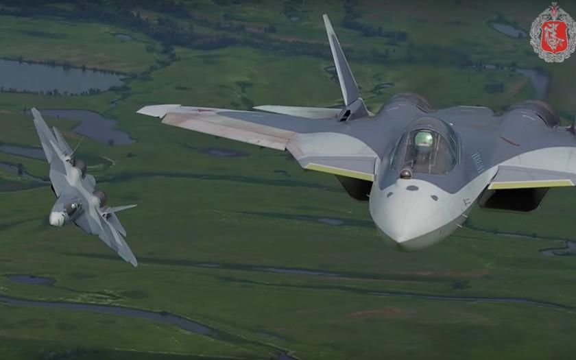 Zajímavé video nejvýkonnějších ruských bojových letounů