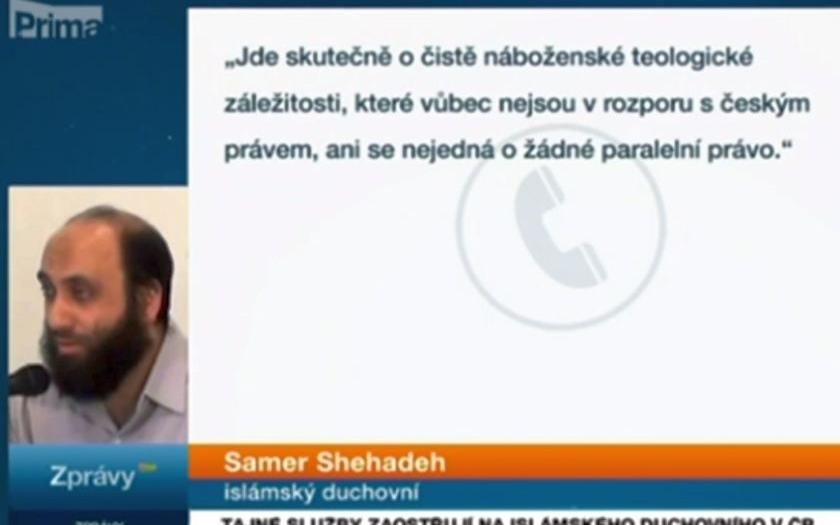 Muslimský duchovní v ČR: &quote;Úřední sňatek a úřední nebo soudní rozvod neuznáváme. Cár papíru&quote;