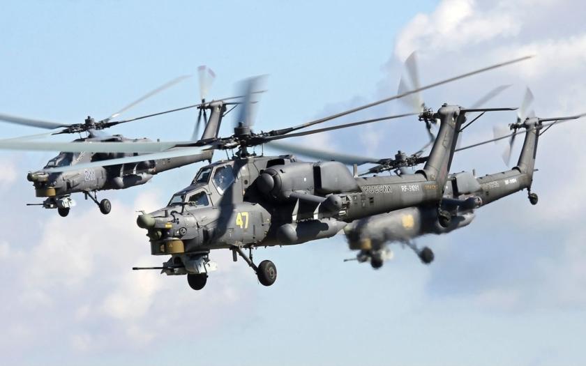 Alžírsko v blízkej dobe predstaví svoje nové vrtuľníky MI-28NE
