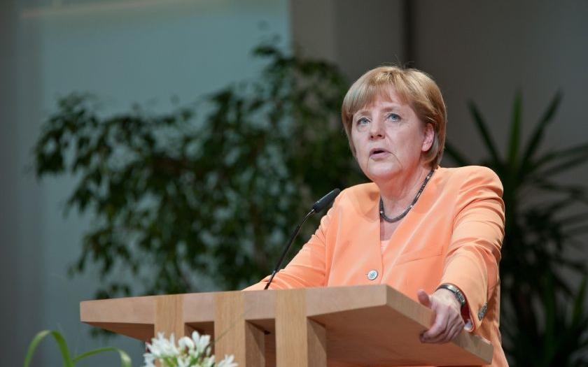 Německo podle Merkelové v dohledné době nezruší hraniční kontroly