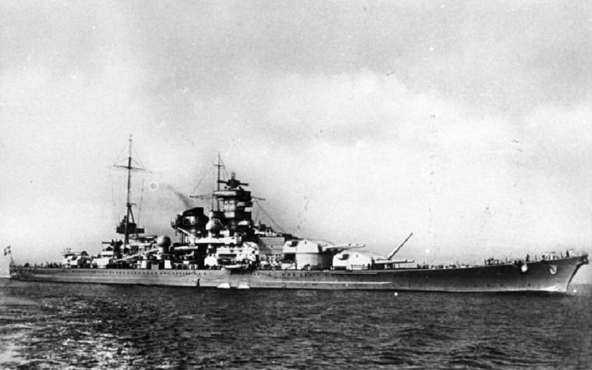 Hitlerova Kriegsmarine - bitevní křižníky Scharnhorst a Gneisenau