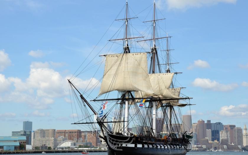 USS Constitution: Nejstarší válečná loď světa v aktivní službě
