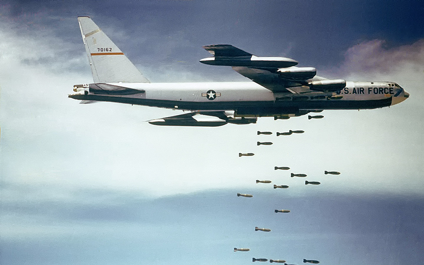 Americké bombardování Laosu bylo tím největším v historii