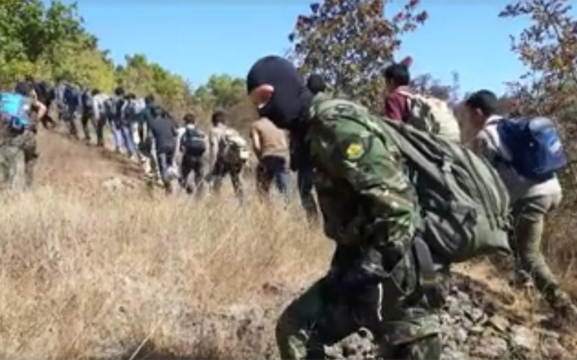 VIDEO: Zásah skupiny Vasil Levski na bulharských hranicích!