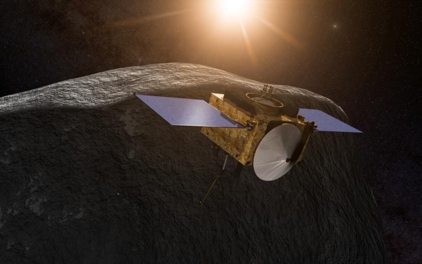 NASA vypustila sondu Osiris-Rex mířící k asteroidu