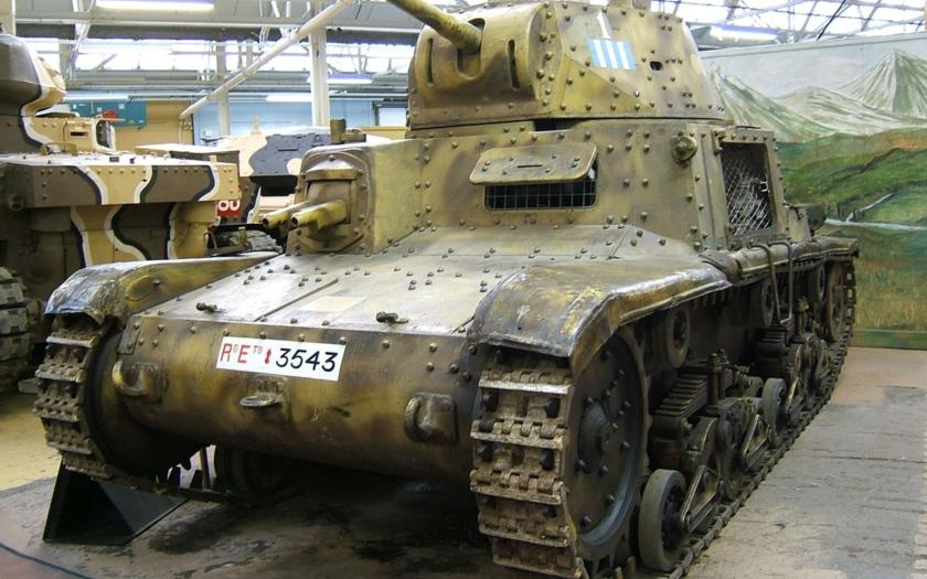 Tank Carro Armato M 13/40