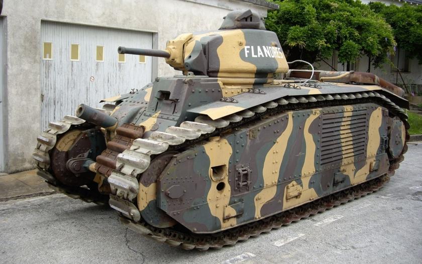 HISTÓRIE: Ťažký tank Char B1-Bis