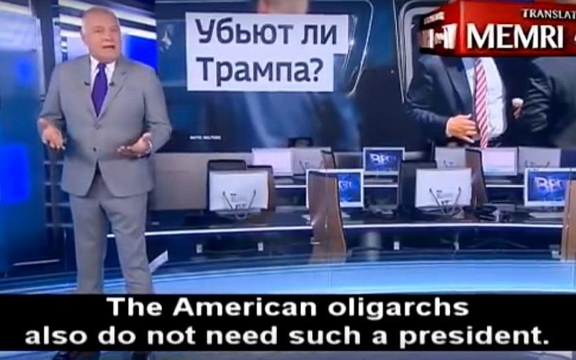 Ruský novinář varuje: &quote;Donalda Trumpa se mohou pokusit zabít&quote;