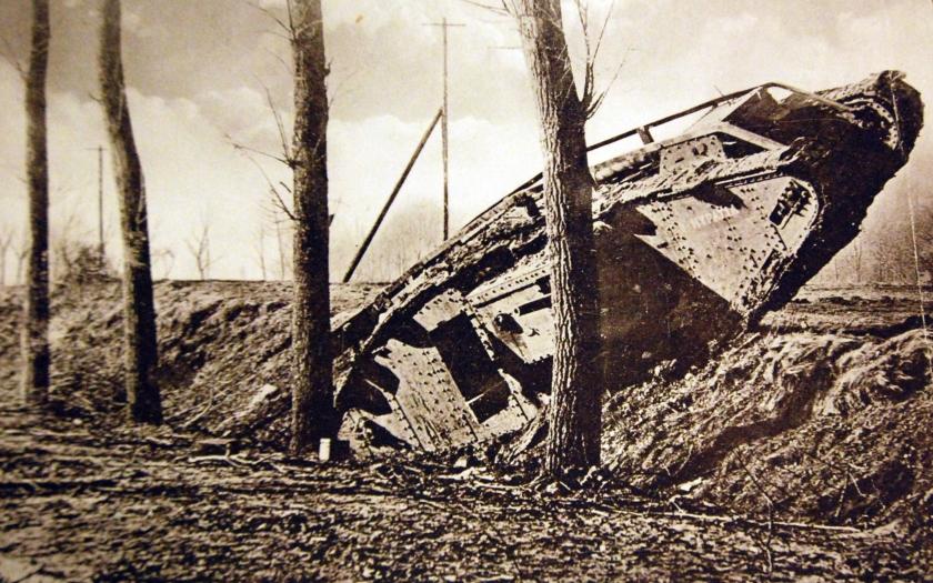 15. září 1916 byl poprvé nasazen tank do bojů