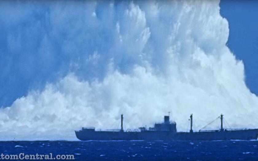 Podvodní atomové testy Wahoo a Umbrella málem zabily filmový štáb