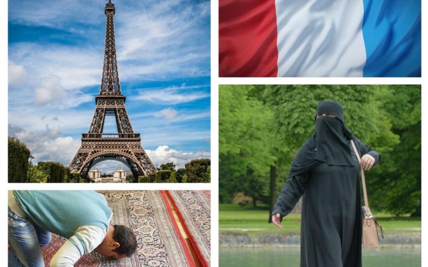Třetina francouzských muslimů odmítá respektovat &quote;světské zákony&quote; a požaduje právo šaría
