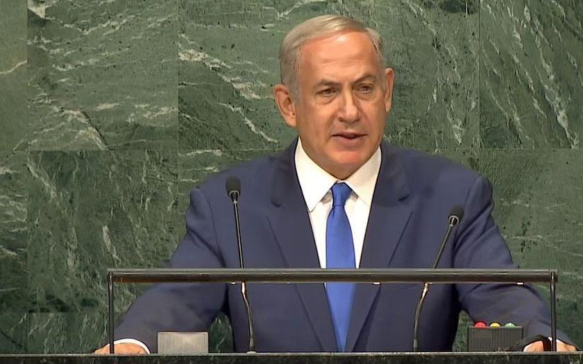 Izrael bude bránit své hranice za bojů v Sýrii, řekl Netanjahu