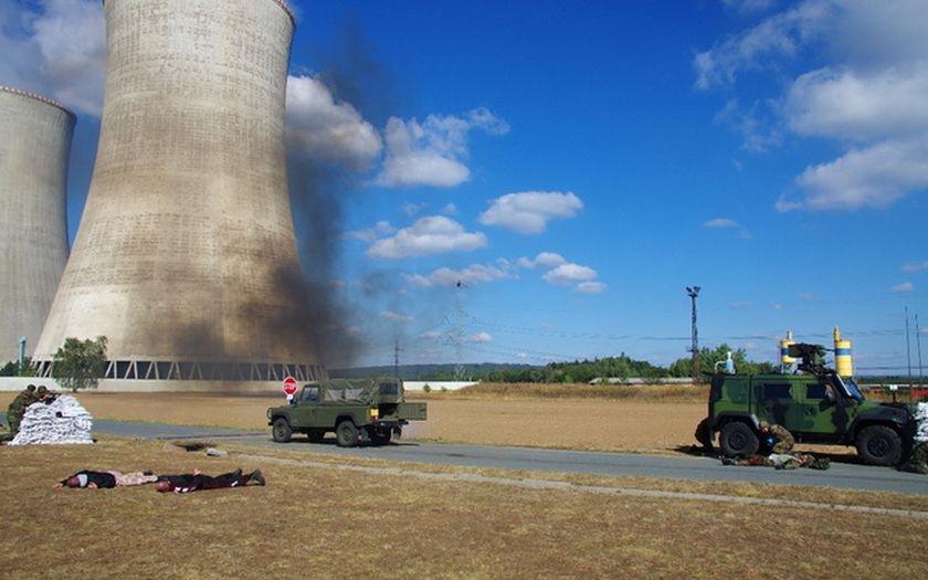 Aktivní zálohy s policisty dokážou ochránit jadernou elektrárnu před teroristickým útokem
