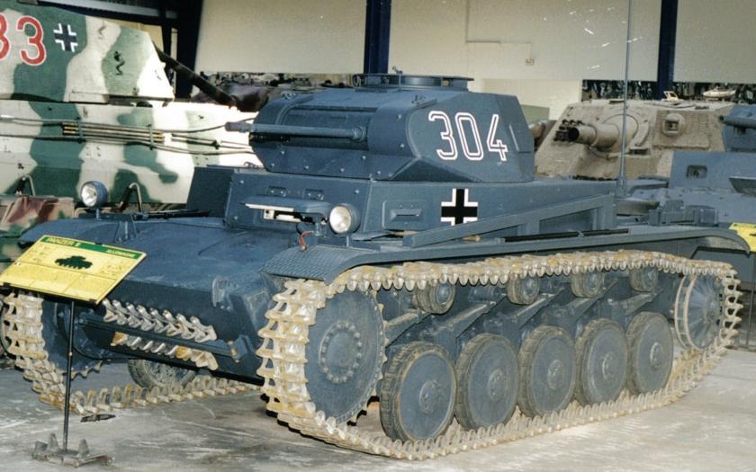 HISTÓRIA: Panzerkampfwagen II Sdkfz 121