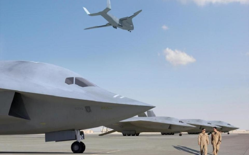Nová generace vzdušných tankerů US Air Force má být stealth a vyzbrojená lasery