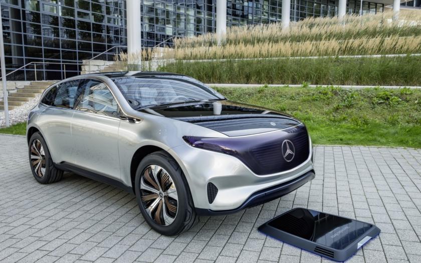 Mercedes přeřazuje na elektrické vozy