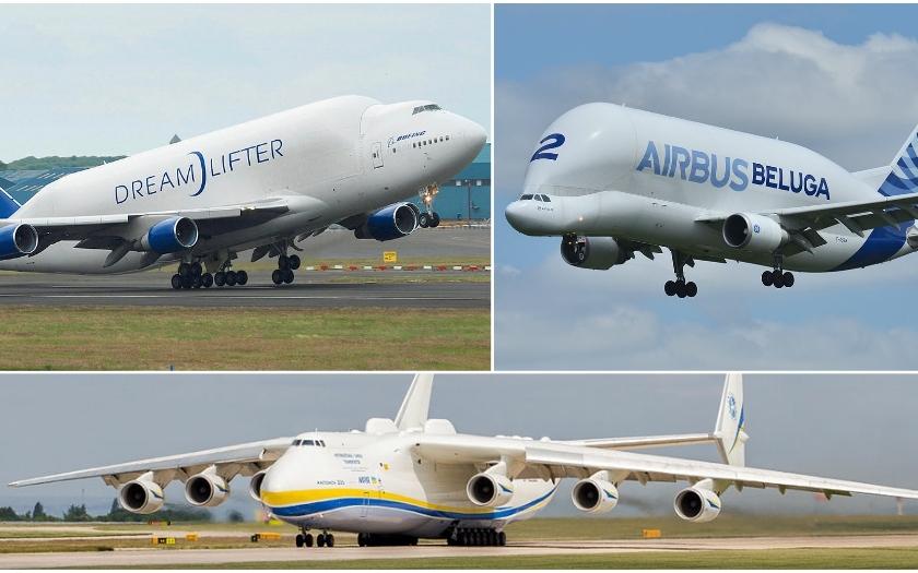 Video: Největší letadla světa. Antonov vs Airbus vs Boeing