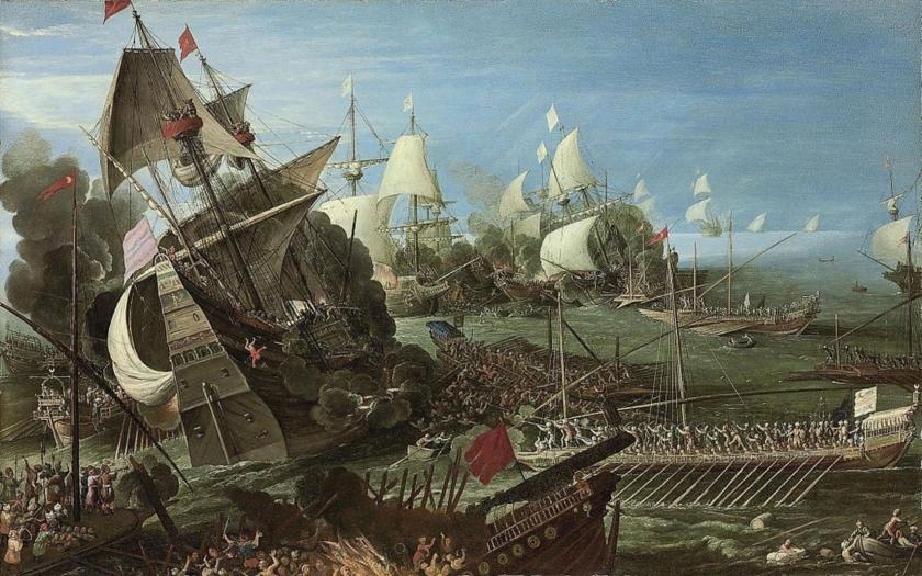 7. října 1571 zlomila spojenecká flotila Svaté ligy osmanskou námořní moc