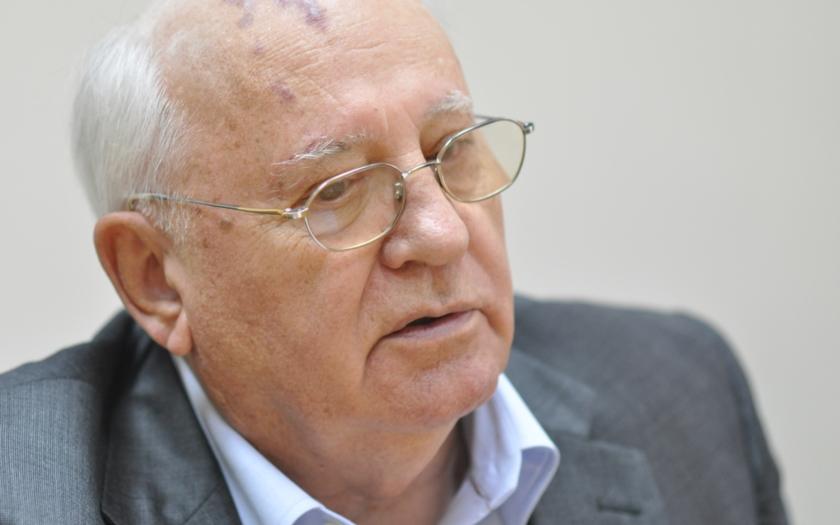 Gorbačov: Napětí mezi USA a Ruskem dosáhlo nebezpečného bodu