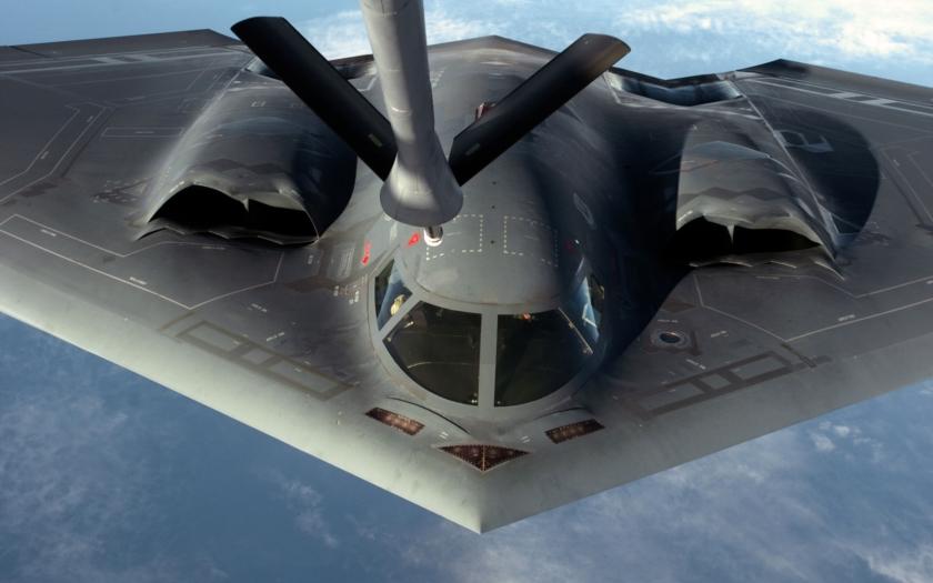 Americké bombardéry testují odhoz jaderných bomb