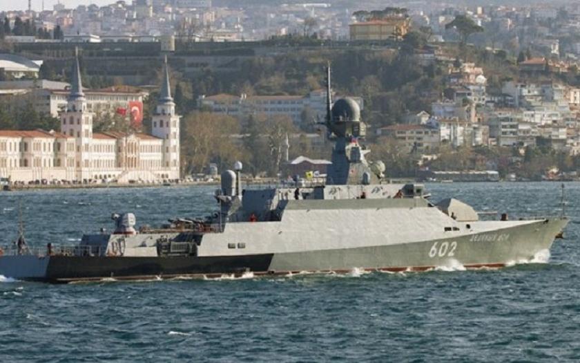 Nejnovější raketová  korveta Vyšnij Voločok třídy Bujan-M začala s námořními testy