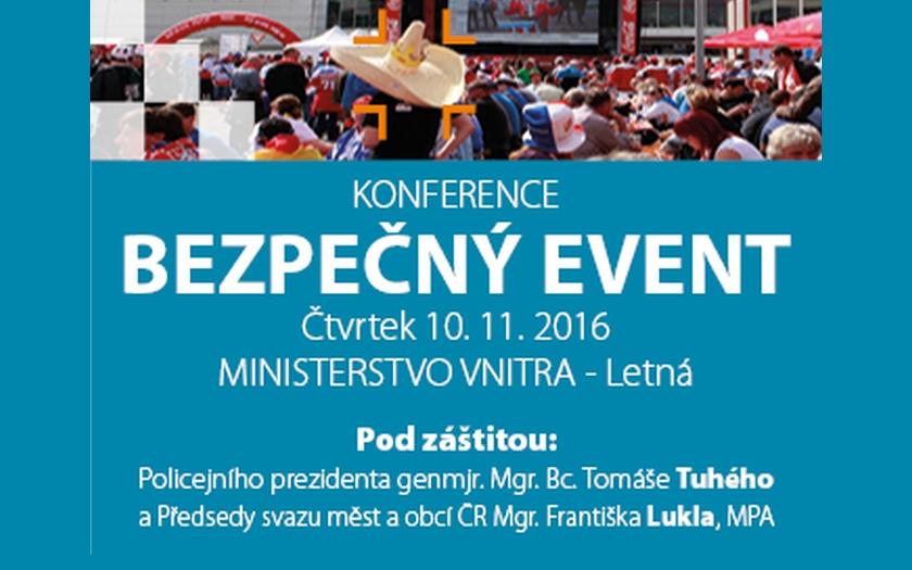 Konference BEZPEČNÝ EVENT