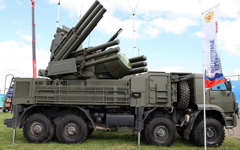 Rusko začne testovať Pantsir-SM