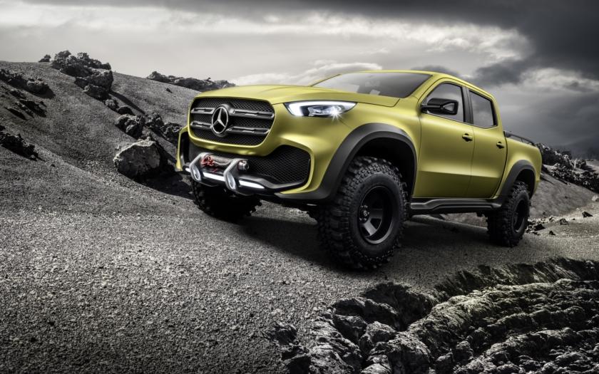Mercedes představil luxusní pickup Concept X-CLASS
