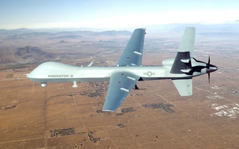Americké drony operují na Libyí