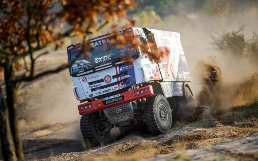 Kolomý byl ve třetí etapě Dakaru druhý a druhý je i průběžně