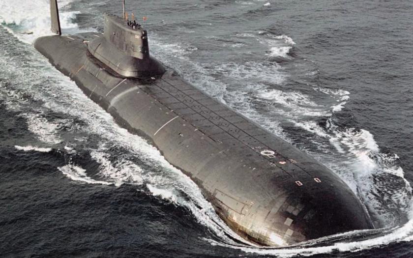 Rusko vyslalo do Sýrie jaderné ponorky třídy Akula s raketami Kalibr