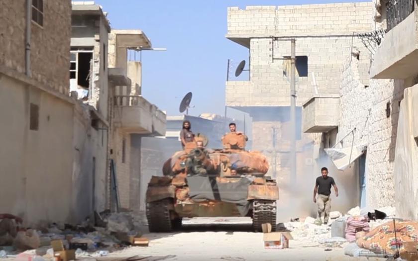 Syrský režim má pod kontrolou další oblast u Damašku