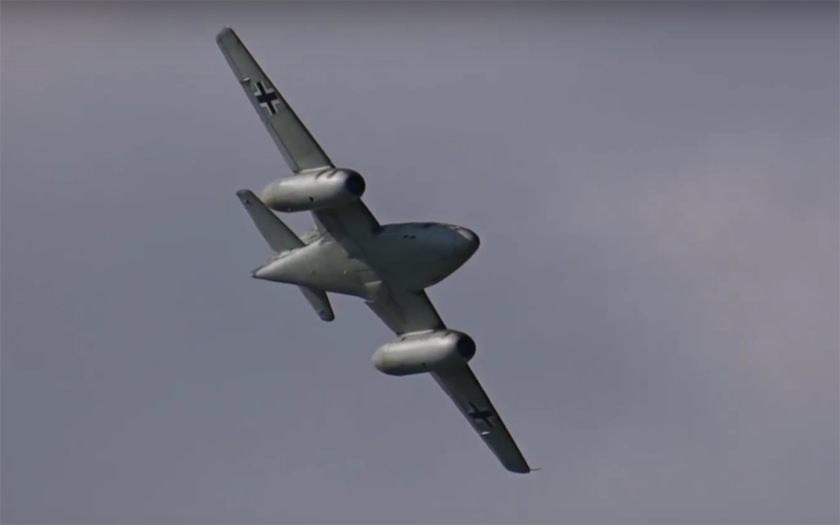 Video: Replika legendární Me-262 v Zeltwegu